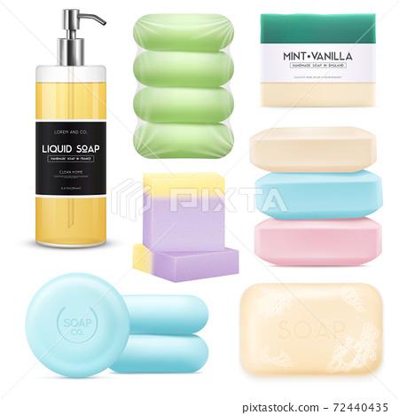 Realistic Soap Set 72440435