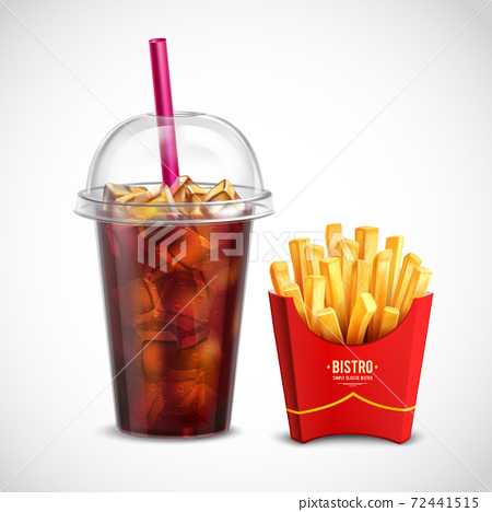 French Fries And Coca Cola 72441515