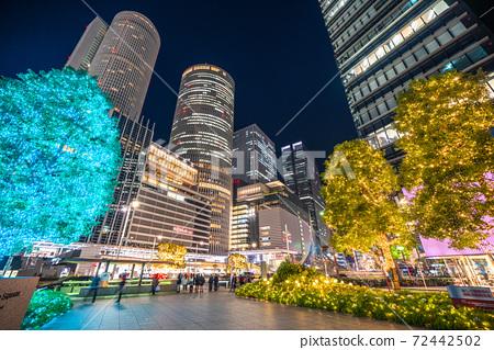 《愛知縣》名古屋站商務區/冬季照明 72442502