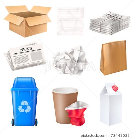 Trash And Waste Set 72445085