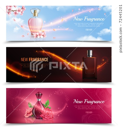 New fragrance Horizontal Banners 72445201