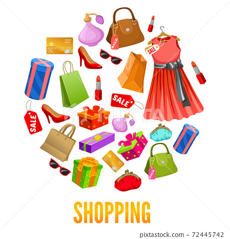 Shopping Round Compositions 72445742