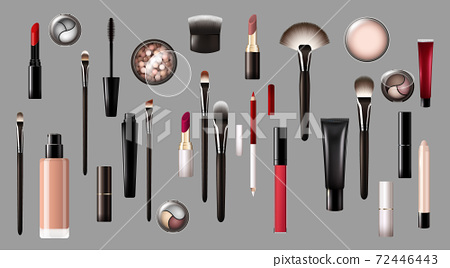 Realistic Makeup Products Collection 72446443