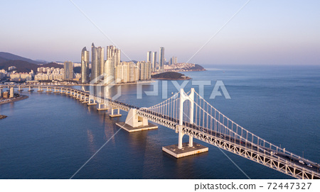 Gwangan Bridge,Marine City,Swimman,Suyu-gu,Haeundae-gu,Busan 72447327