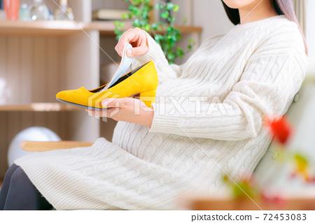 孕婦後跟鞋鞋墊 72453083