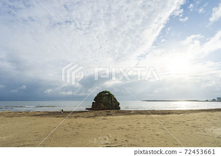 [Shimane Prefecture] Natural landscape Inasa beach 72453661