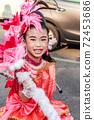 portrait Single of smile child Drum Mayer students parade 72453686
