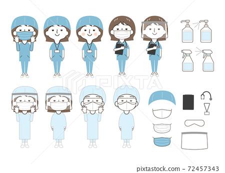 女性:醫療:套裝 72457343