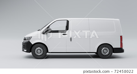 Freight van business concept 72458022