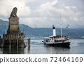 Port Entrance to Lindau Harbour, Bavaria, Germany 72464169