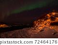Aurora Borealis near Tromsoe, Norway 72464176