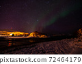 Aurora Borealis near Tromsoe, Norway 72464179