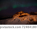 Aurora Borealis near Tromsoe, Norway 72464180
