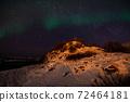 Aurora Borealis near Tromsoe, Norway 72464181