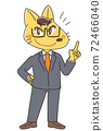 Fox businessman male character 72466040