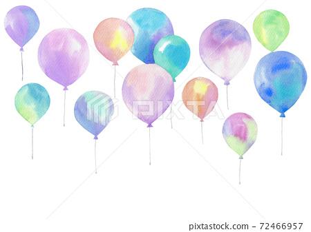 氣球水彩 72466957