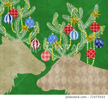 聖誕馴鹿 72475642