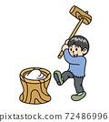 男孩做年糕 72486996