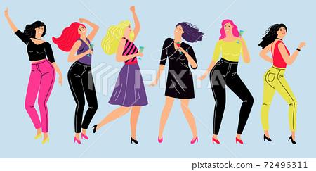 Friendly female party 72496311