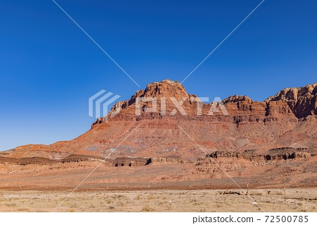 Sunny view of the Vermilion Cliffs National Monument 72500785