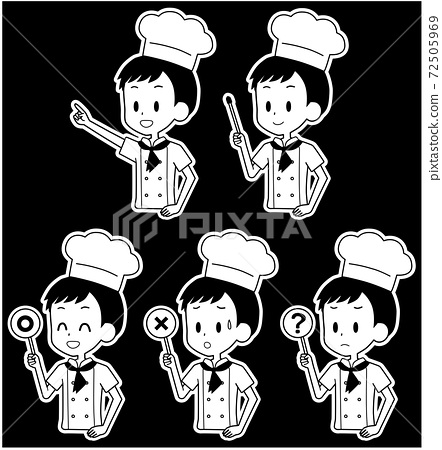 요리사 포인터 세트 72505969
