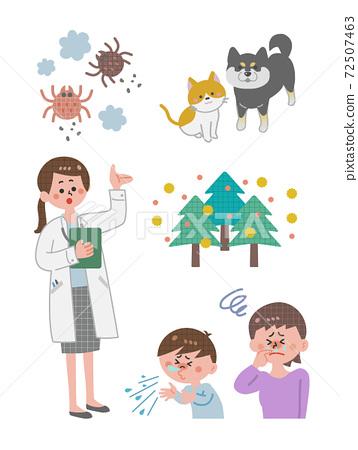 Allergy hay fever doctor 72507463