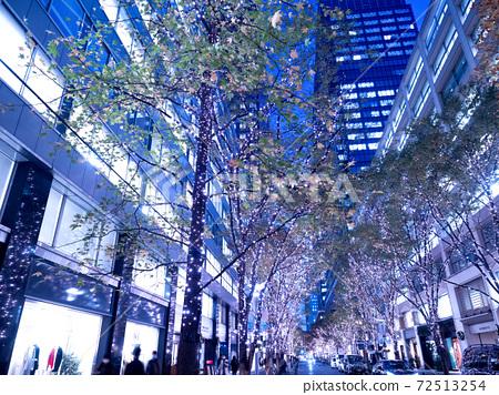 Illuminations on Marunouchi Nakadori, Tokyo 72513254