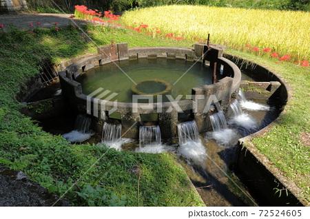 Soundless well circular dividing water 72524605