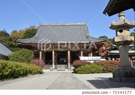 四國第84 Fudashi Yajima寺廟大廳 72543177