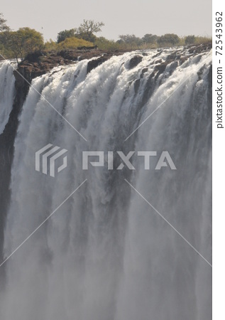 Victoria Falls, one of the world's three largest waterfalls (Zambia side) 72543962