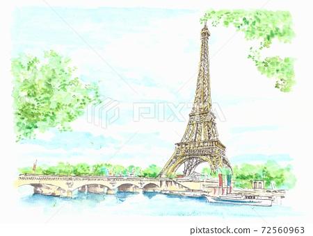 世界遺產城市景觀,艾菲爾鐵塔 72560963