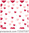 seamless Valentine's day background.  texture for wallpaper,wrapping paper. 72567597