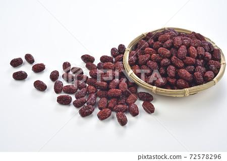 乾果,紅棗,紅棗果實,乾燥,中藥材 72578296