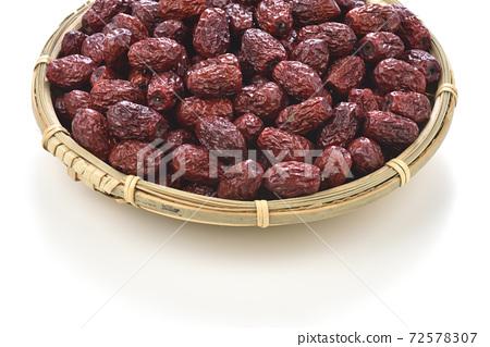 乾果,紅棗,紅棗果實,乾燥,中藥材 72578307