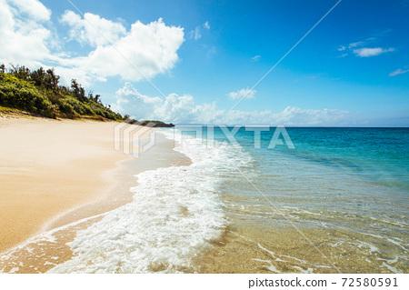 冲绳海滩 72580591