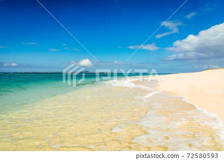 오키나와 해변 72580593