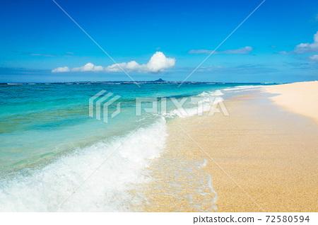 冲绳海滩 72580594