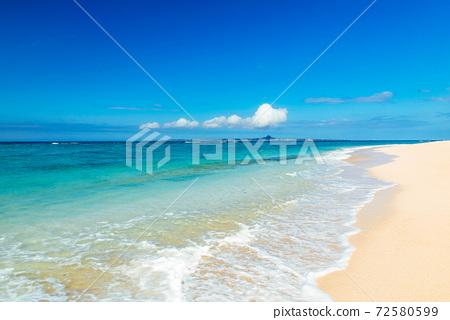 冲绳海滩 72580599