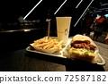一個漢堡套餐 72587182