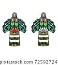 松木裝飾 72592724