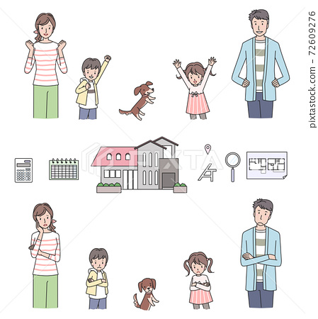 My home and family variation set 72609276