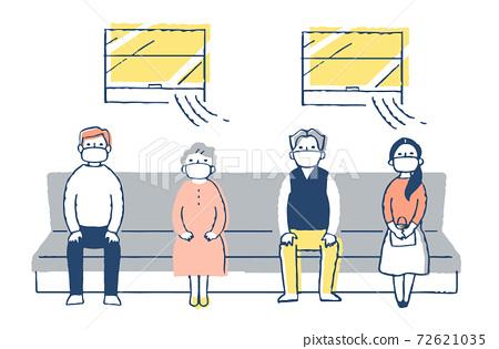 傳染病預防措施:定期坐火車的人 72621035