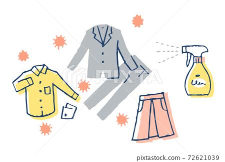 傳染病預防措施:衣物消毒 72621039