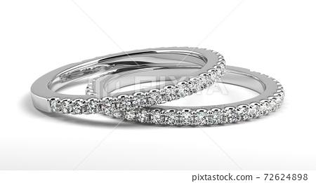 Two Wedding Rings 72624898