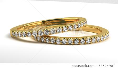 Two Wedding Rings 72624901