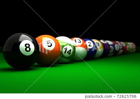 Billiard Balls 72625706