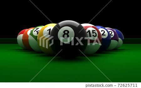 Billiard Balls 72625711