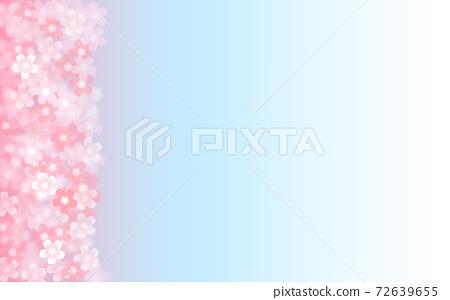벚꽃 배경 일러스트 꽃잎 사쿠라 봄 일러스트 소재 72639655