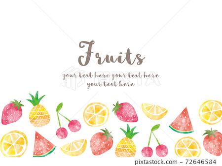 Fruit_frame_watercolor 01 72646584