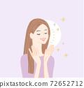 皮膚護理美麗的皮膚女性緊緻2 72652712